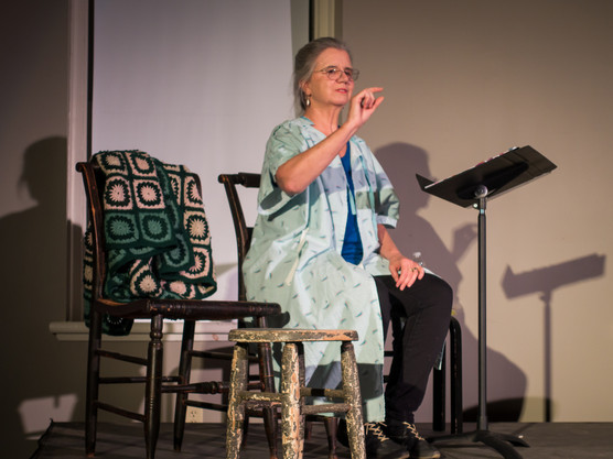 New Hampshire Playwright, Marylou DiPietro Goes Solo