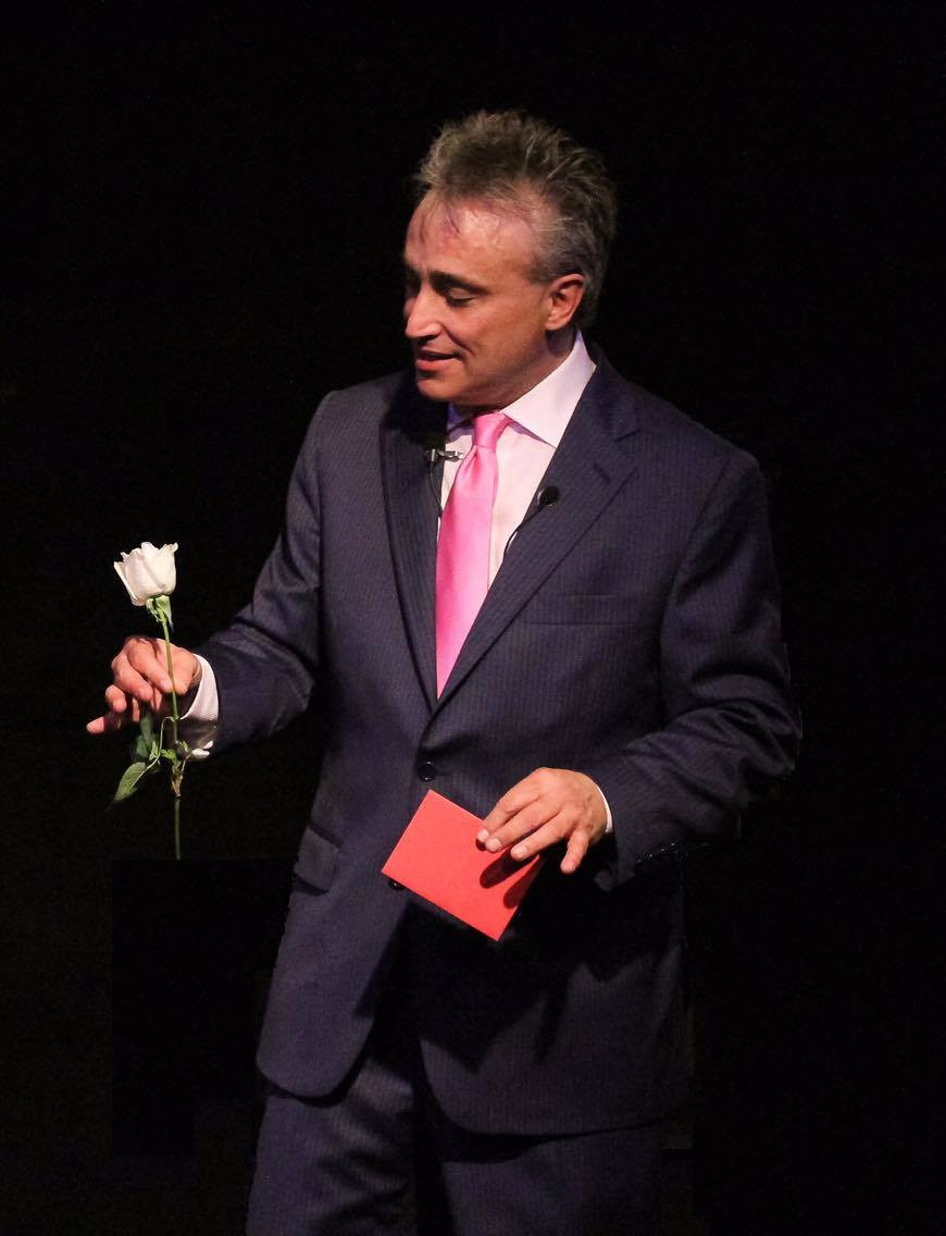 Renzo charms his audience 13th Street Repertory Theatre