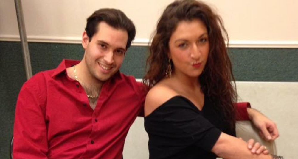 Director Gregory Cioffi and Playwright Emily Dinova