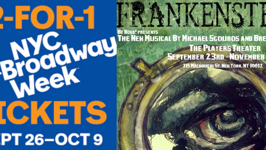 NYC Off-Broadway Week is Here! Save with 2-For-1Tickets to OB shows!