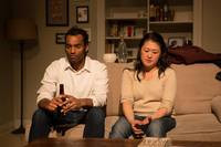 "(L) Amar Srivastava as ""Howie and Suzie Cho as ""Becca) (R)"