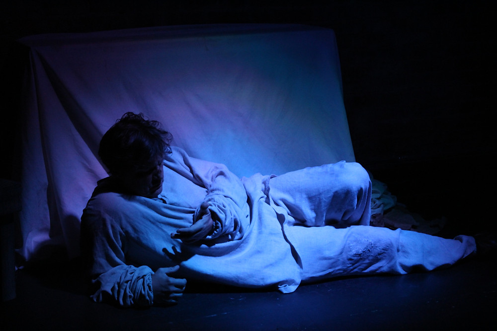 Actor Ilia Volok in Diary of a Madman at ATA