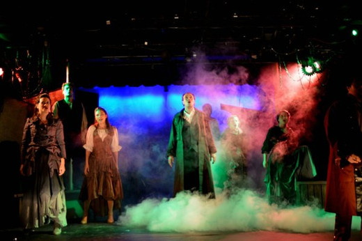 FRANKENSTEIN A New Musical: A Visually Dazzling New Twist at Player's Theatre.