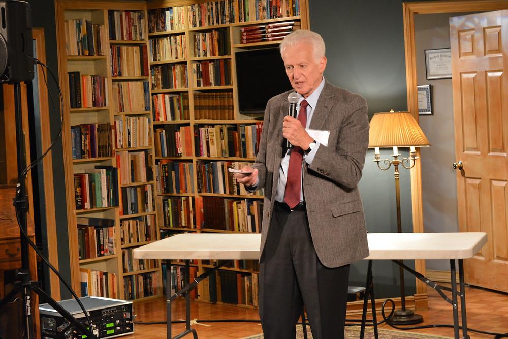 Tom Viertel speaks at recent CTI workshop