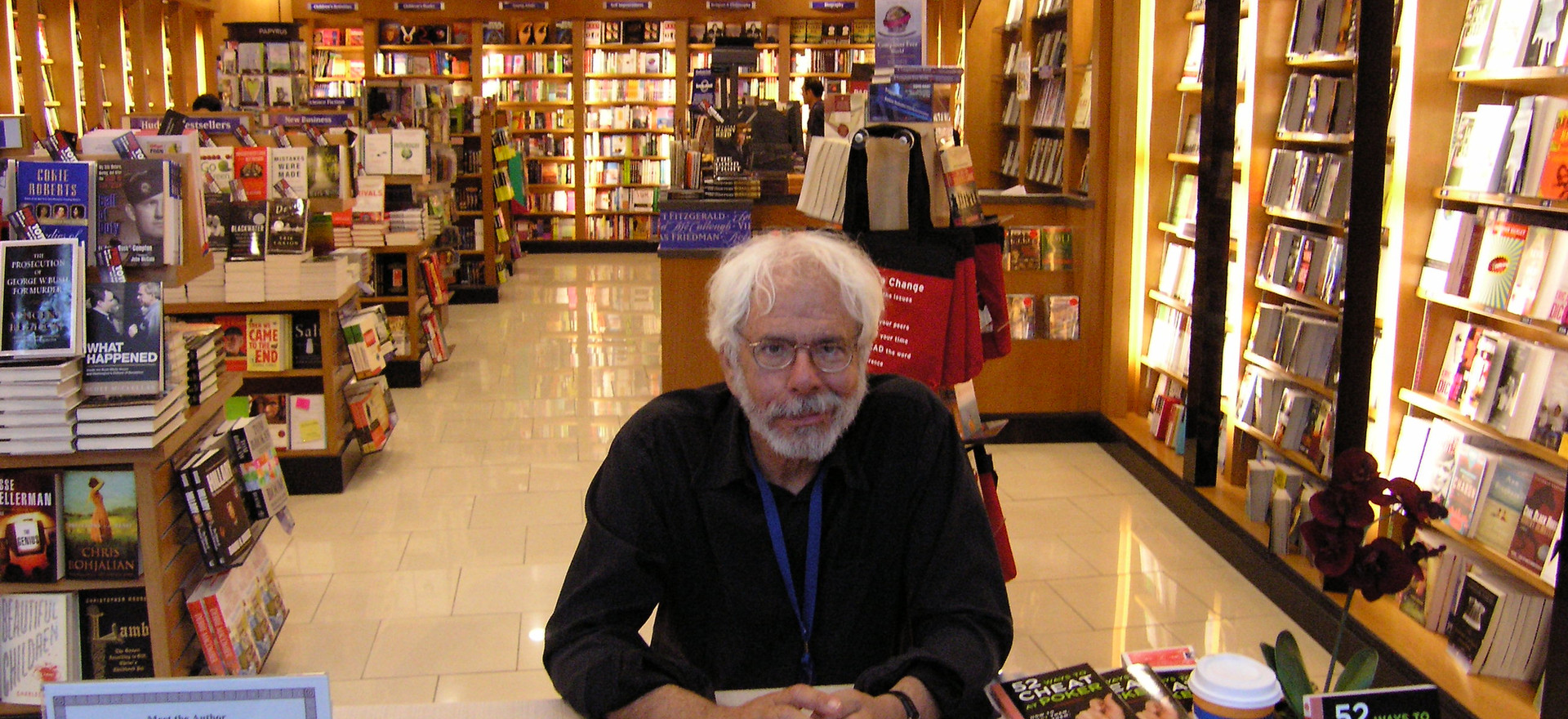 Book signing at Las Vegas Airport