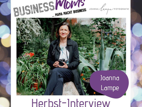 Herbst-interview: Joanna Lampe