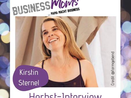 Herbst-Interview: Kirstin sternel