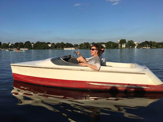 Speeddating im Boot