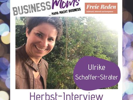 Herbst-interview: Ulrike Schaffer-Stäter