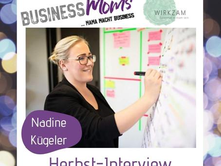 Herbst-interview: Nadine Kügeler