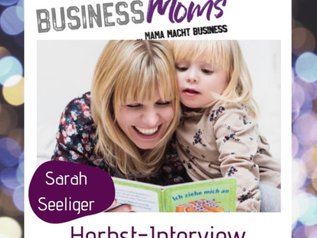 Herbst-Interview: Sarah seliger