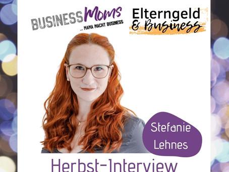 herbst-interview: Stefanie Lehnes