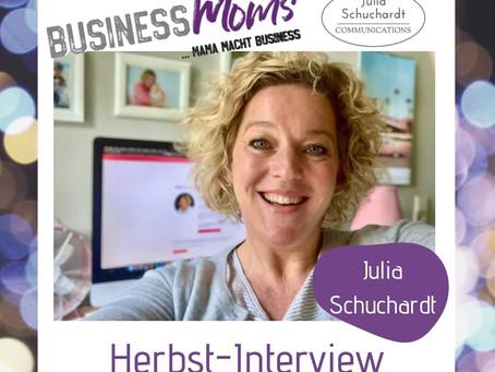 Herbst-interview: Julia Schuchardt