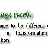 change=verb