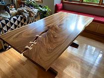 Monkeypod Slab Table