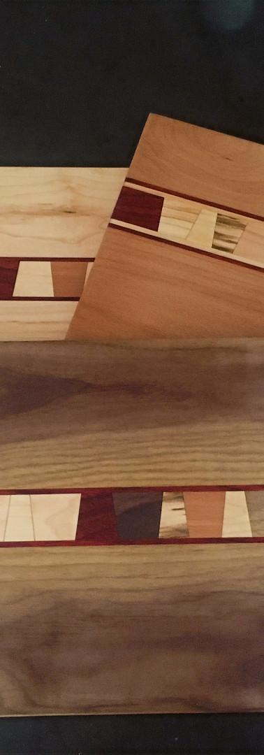 Wedge cutting boards