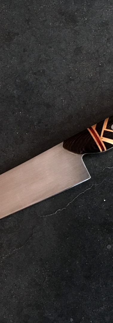 Tanto point filet: Weave
