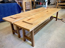 Maple Dining Benches