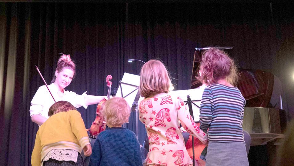 Prelude Family Concert, Clinke Lounge
