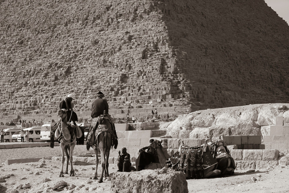 MONO - Antiquity vs Tourism by Jennifer James (7 marks)