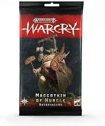 Warcry: Maggotkin of Nurgle Rotbringers Card Pack (WT)