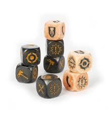 Warhammer Underworlds: Morgok's Krushas Dice Set (WT)