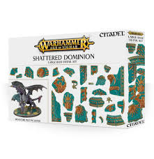 Age of Sigmar: Shattered Dominion Large Base Detail Kit (WT)