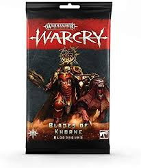 Warcry: Blades of Khorne Bloodbound Card Pack (WT)