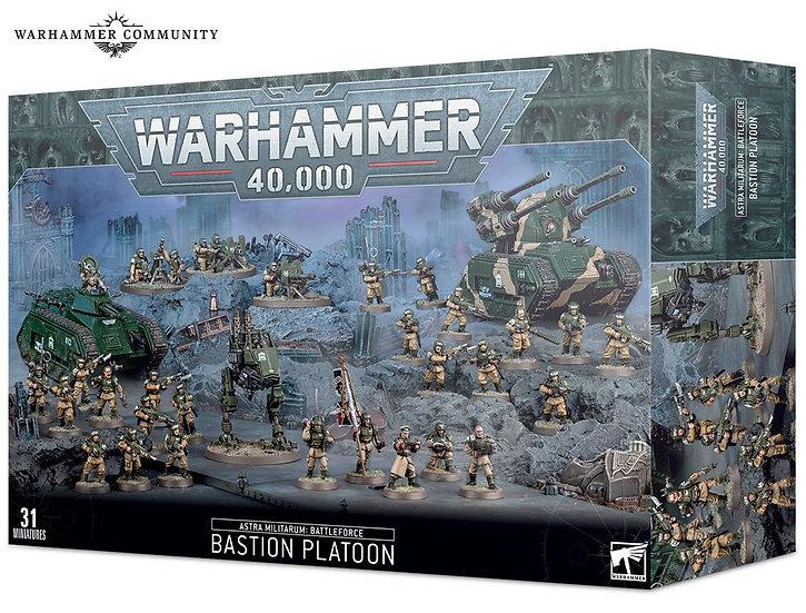 Astra Militarum: Bastion Platoon (WT)