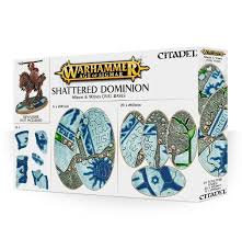 Age of Sigmar: Shattered Dominion 60 & 90mm Oval Bases (WT)