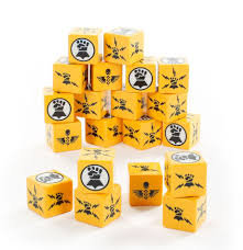 Imperial Fists Dice Set (WT)