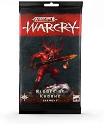 Warcry: Blades of Khorne Daemons Card Pack (WT)