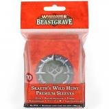 Warhammer Underworlds: Skaeth's Wild Hunt Premium Sleeves (WT)