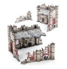 Battlezone: Manufactorum - Sub-cloister and Storage Fane (WT)
