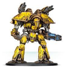 Adeptus Titanicus: Warlord Battle Titan with Plasma Annihilator +Power Claw (WT)