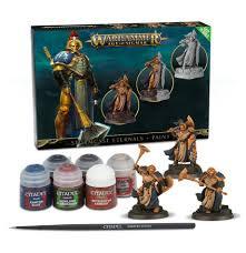 Age of Sigmar: Stormcast Eternals and Paint Set (WT)