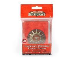Warhammer Underworlds: Grashrak's Despoilers Premium Sleeves (WT)