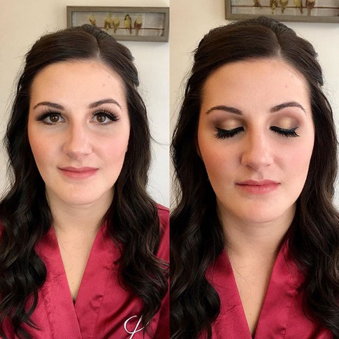 This beauty's hair and makeup look.jpg
