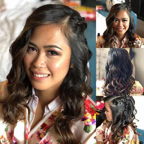 Waves and braid for the special day!_💁�