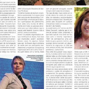 Jornal Panrotas - Gestão de Riscos em Eventos