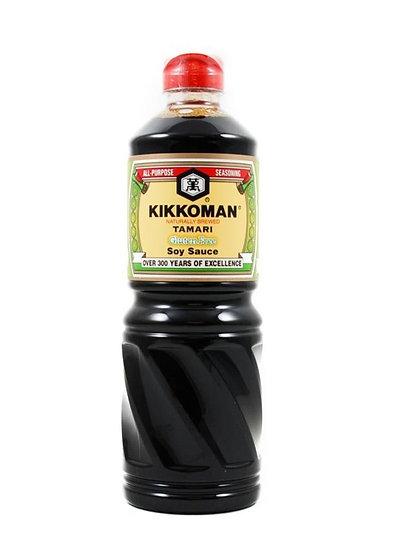 Kikkoman Tamari Soy Sauce - Gluten Free 1 Liter