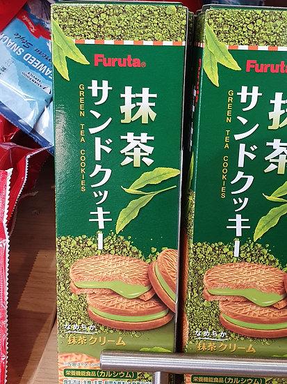 Japanese Furuta Matcha Green Tea Cookies 117g