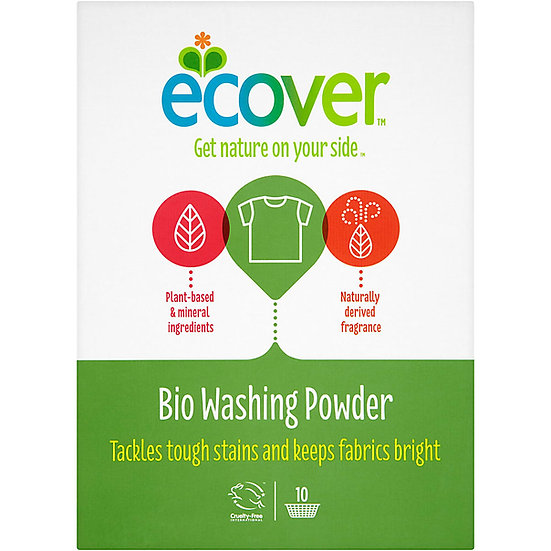 Ecover Concentrated Bio Integrated Washing Powder 750g