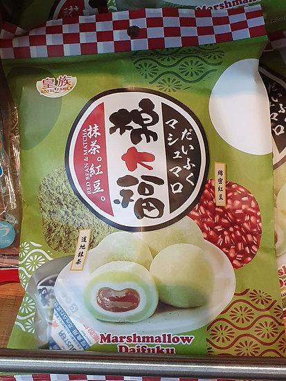 Royal Family Marshmallow Daifuku 120g ( Matcha Red Besn Mochi)