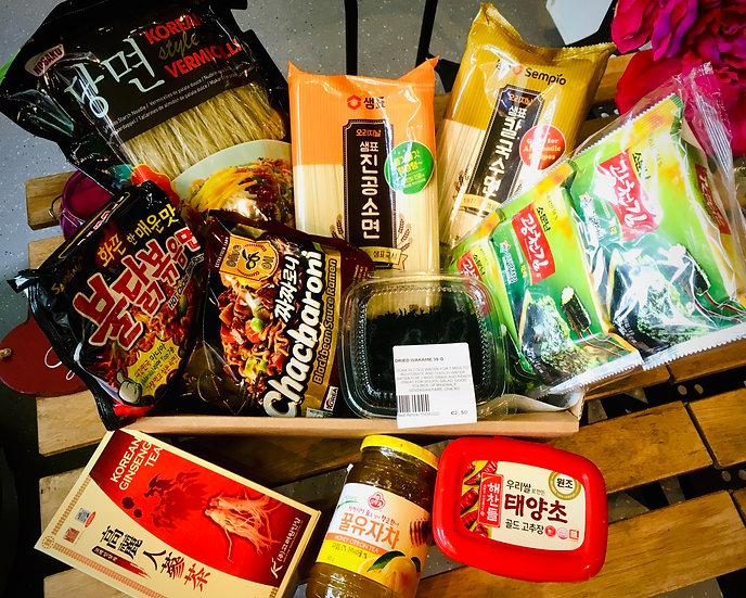 The Korean Fans Food Gift Set