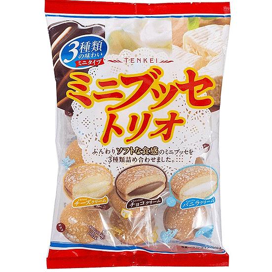 TenKei Japanese Sweets Min Bouchee Trio 140g