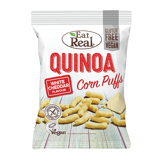 Eat Real Quinoa Kale Puffs - Cheese Flavour