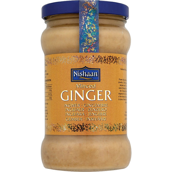 Nishaan Minced Ginger Paste 283g