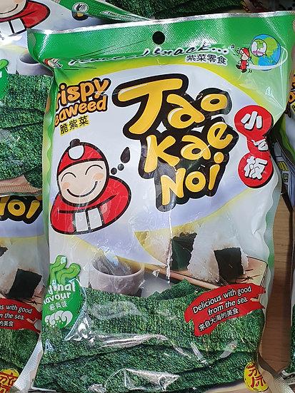 Tao Kate Noi Crispy Seaweed Snack Original 32g
