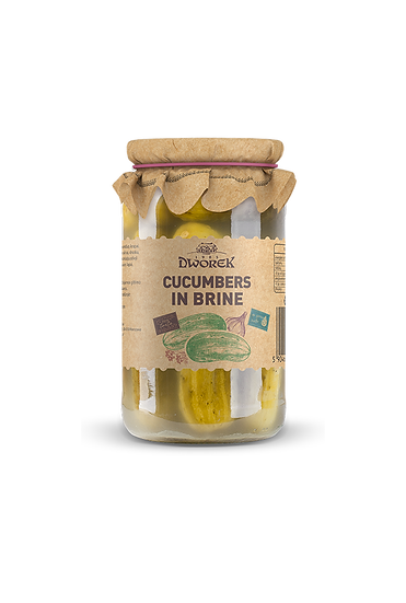 Cucumbers in brine 900ml
